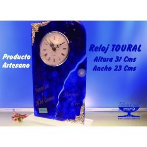 RELOJ  TOURAL AZUL